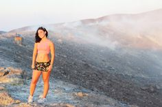 Sparkly Fashion: Sparkly Life: On the top of (the) Vulcano, Sicilia