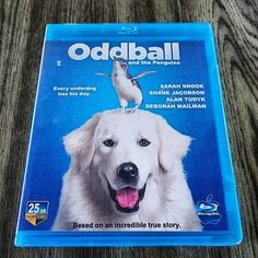 New blu-ray collection:  Oddball and the Penguins.  Based on an incredible true story.  Tugging at the heartstrings from the first scene this adorable family adventure mirrors its canine hero - overcoming any flaws by being utterly charming. #bluraycollector #bluray #movie #film #family #familyfilm #familymovie #oddball animal #animals #animallover #dogmovie #dog #dogs #doglover #oddballandthepenguins #canine #penguin #truestory #drama #alantudyk #sarahsnook #kids #instafilm #instamovies…