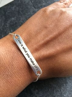 Friendship Bracelet Silver Friendship Bracelet by Instyleglamour