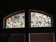 artscape 24 in x 36 in trellis decorative window film. Black Bedroom Furniture Sets. Home Design Ideas