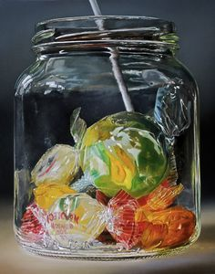 Drawing Realistic candy realistic oil paintings - Realistic Paintings: Tjalf Sparnaay was born in Haarlem, Netherlands in the year He is a combination of artist, photographer, illustrator and painter. Acrylic Painting Tips, Oil Painting For Beginners, Hyper Realistic Paintings, Food Painting, Oil Painting Flowers, Realistic Drawings, Painting Classes, Painting People, Painting Videos