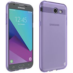 Amazon.com: For Samsung Galaxy J7 V / J7 2017 / J7 Prime / J7 Perx / J7 Sky Pro / Galaxy Halo Case, LK Ultra [Slim Thin] TPU Rubber Soft Skin Silicone Protective Case Cover (Purple): Cell Phones & Accessories