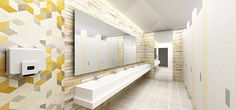 Keysight Office Public Toilet Design Proposal on Student Show