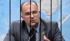 :) LÍDER DE UMA ASSOCIAÇÃO CRIMINOSA, SEGUNDO O JUIZ, DESLIGAVA AS ESCUTAS AUTORIZADAS PELA POLÍCIA FEDERAL. Nomeado por Renan, preso pela PF comandava a
