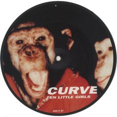"For Sale - Curve Ten Little Girls UK  7"" vinyl picture disc 7 inch picture disc single - See this and 250,000 other rare & vintage vinyl records, singles, LPs & CDs at http://eil.com"
