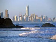 Gold Coast, Surfers Paradise, Austrialia - probably one of my favority places on earth.