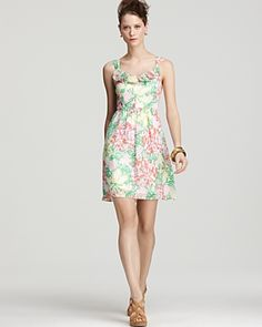 Add Some Color To Your Canvas ~ Lilly Pulitzer Mariposa Peggy Dress