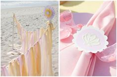 Inspiration for a beach baby shower