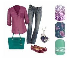 Day errands. Fall 2015 fashion Jamberry combos