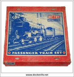 Passenger Train Set No. 5352/1, Mettoy Ltd., Great Britain. Photo in DOCKERILLS - TIN TOY REFERENCE - GREAT BRITAIN - Google Photos All Toys, Train Set, Great Britain, Tin, The Past, About Me Blog, Photo And Video, Google, Vintage