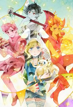 .Adventure time with Fionna and princes. by Hetiru on DeviantArt