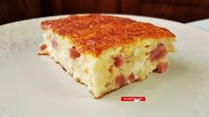 Ham And Cheese, I Love Food, Lasagna, Quiche, Breakfast, Ethnic Recipes, Youtube, Greek, Lasagne
