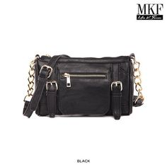 MKF Collection Frilly Cross-Body Shoulder Bag - Assorted Colors at 76% Savings off Retail!