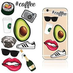 iDecoz HIPSTER Reusable Vinyl Decal Sticker Skin For ALL Cell Phones / Cases / iPhone 7 / 7 Plus / 6 / 6 Plus / 6S / 6S Plus / SE / 5S / 5C / 5 / Galaxy / MacBook / Laptop / iPad / Walls & More!