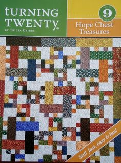 Turning Twenty Again-Japanese Fabrics - Primitive Gatherings Quilt ... : free turning twenty quilt pattern - Adamdwight.com