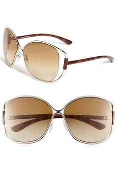 Free shipping and returns on Tom Ford Sunglasses at Nordstrom.com. Open temples and a crisscrossed bridge update a sleek pair of sunglasses that are subtly branded at temple tips.