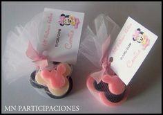 Souvenirs Jaboncitos Artesanales. Minnie Bebé.