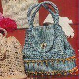 Sparkling Sailor Bag - Free Crochet Bag Pattern