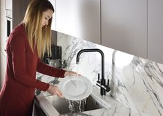 The 3 IN 1 tap is the nation's favourite tap design, so it will sit comfortably in any kitchen environment. It is also simple to retro-fit the tap and replace your old model with a new 3 IN 1 model. Kitchen Mixer, Kitchen Taps, Water Tap, Old Models, Monochrome, Environment, Retro, Simple
