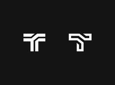 T by Kakha Kakhadzen #Design Popular #Dribbble #shots
