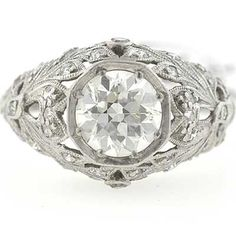 Art Deco Circa 1920's Engagement Ring    US$7,550