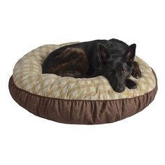 Pet Spaces 35-Inch Flannel Round Pet Bed Only $11.89 Shipped!