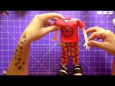 TUTORIAL FOFUCHO CON HOMBROS. CAMISETA, PANTALON Y SANDALIAS - YouTube