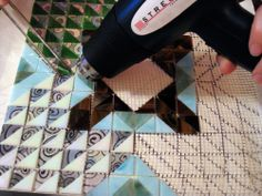Streuter Technologies: Q&A Monday ~ Vertical Mount Mosaic with Mesh Concrete Wall, Stained Glass, Adhesive, Mesh, Templates, This Or That Questions, Crafts, Products, Mosaics