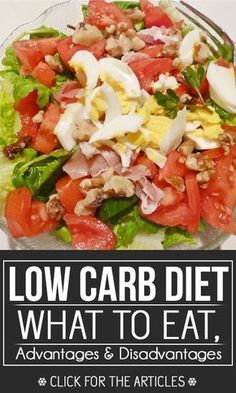 Low Carb Diet: What To Eat, Advantages And Disadvantages