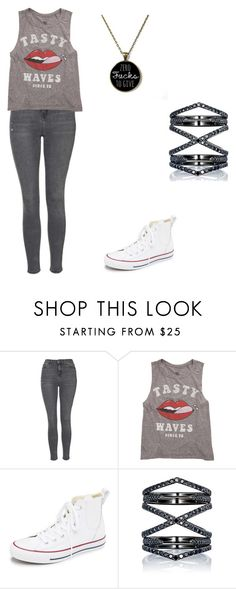 """Untitled #122"" by angel000 on Polyvore featuring Topshop, Billabong, Converse and Eva Fehren"