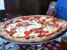 Lombardi's Coal Oven Pizza w New York, NY Najstarsza pizzeria w NY