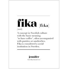 """I live in Sweden and """"fika"""" to me is mostly sweet stuff like cookies and cakes, it was just some years ago I realised some swedes only mean coffee break and I'm there looking for the cookies and buns ☕ = FIKA! Not just coffee - okay? Hygge, Swedish Quotes, Motto, Learn Swedish, Rare Words, Thinking Day, Fika, Word Porn, Positive Vibes"""
