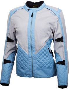 Amazon.com: Scorpion Dominion - Women's Textile Motorcycle Jacket - Grey/Blue - Large: Automotive