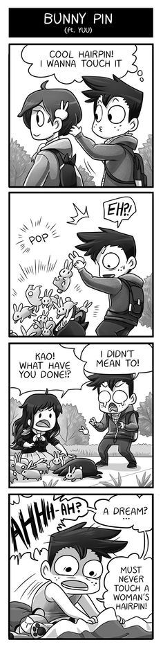 Mondo Mango :: Bunny Pin   Tapastic Comics - image 1