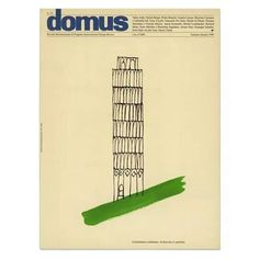 "Alan Fletcher, British graphic designer (27/09/1931 – 21/09/2006) Image: ""Architecture is optimism"", the last cover Alan designed for us, Domus No. 778, January 1996"