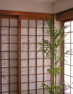 Fabriquer porte japonaise