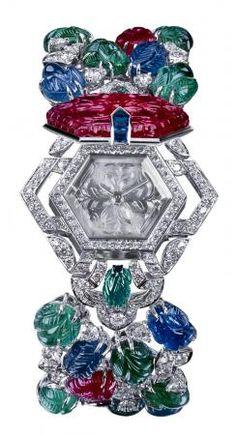 """FTOP: """"Cartier Tutti Frutti Diamond Watch"""". Tutti-Fruitti? More like Glitzy-Sparkly!"""