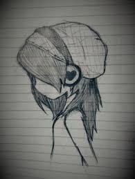 Resultado De Imagen Para Dibujos A Lapiz De Emos Enamorados Music Drawings Art Drawings Sketches Cool Art Drawings