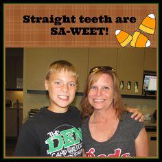 Straight teeth are SA-WEET!