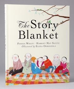 Loving this The Story Blanket Hardcover on #zulily! #zulilyfinds