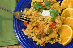 Migas- the first Pioneer Woman recipe I ever made.  Now I make it at least 2-3 times per month.