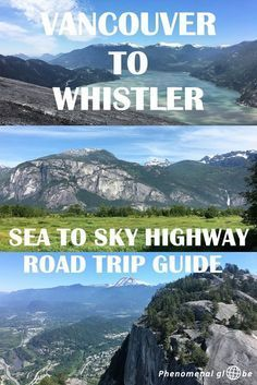 The perfect Sea to Sky Highway road trip guide! Including all the highlights between Vancouver and Whistler and tips for the best road trip experience. Whistler, Banff, Sea To Sky Highway, Highway Road, British Columbia, Alaska, Brandywine Falls, Canada Destinations, Canadian Travel