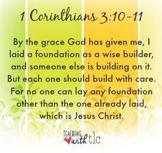 1 Corinthians 3:10-1