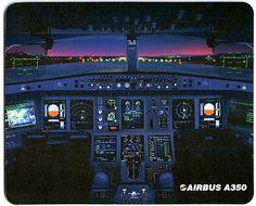 Airbus A350 Cockpit - Mousepads