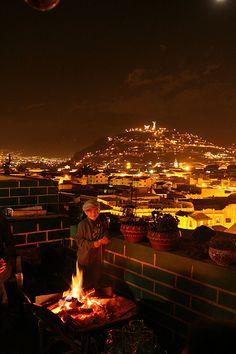 Winter in Quito, Ecuador