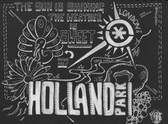 Sketchnotes Travelogue, Holland Park London - 18 May 2014   Flickr - Photo Sharing!