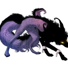 Drawing Anime Wolf Shadows 16 Ideas For 2019 Demon Art, Demon Wolf, Anime Wolf, Fantasy Wolf, Fantasy Beasts, Monster Art, Creature Drawings, Animal Drawings, Anime Shadow