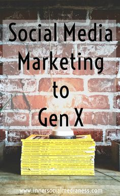 Social Media Marketing to Gen X - Have you ever noticed that marketing folks always seem to be talking about how to reach Baby Boomers? Or what's the latest app to connect with Millennials? What happened to marketing to Generation X, my generation? Well, my friends, this is the post for those of us stuck in the middle. via @penneyfox