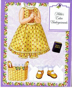 Millie's Paper Doll Collection.This From isanere1 - Yakira Chandrani - Picasa Web Albums