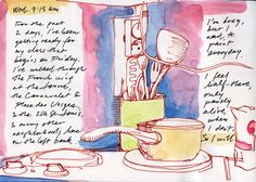 Susan Abbot - travel journal page
